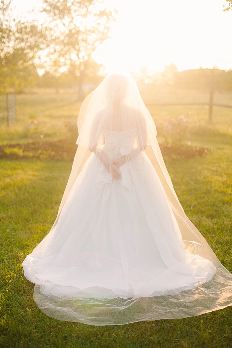 Sunset Bridal Pictures